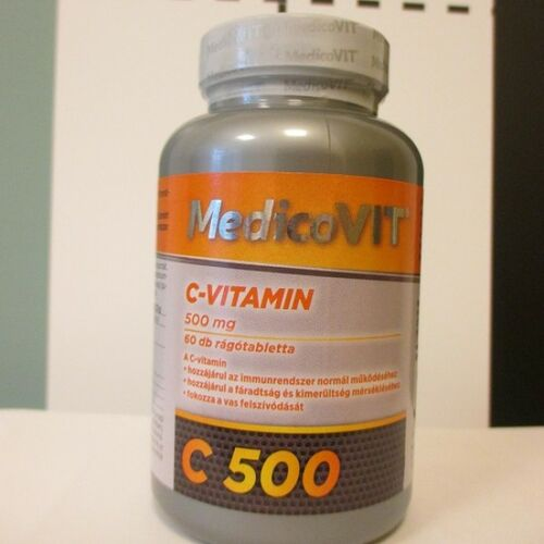 MedicoVIT C-vitamin 500 mg 60 db